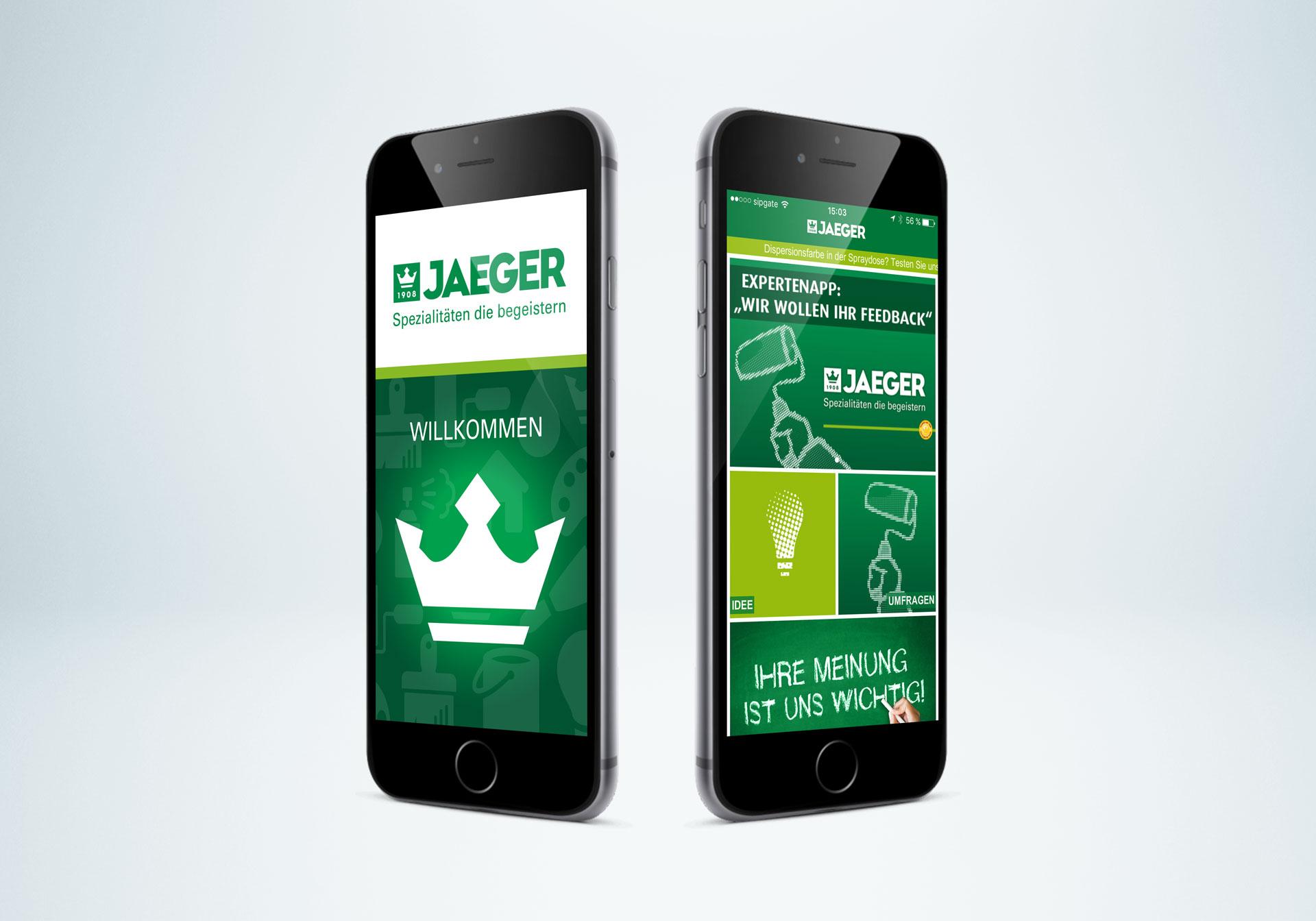 Jaegerlacke App