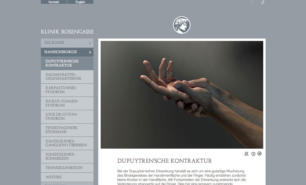 Klinik Rosengasse Handchirurgie